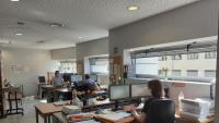 Jutjats de Lleida , amb funcionaris més separats per la norma sanitària, ahir