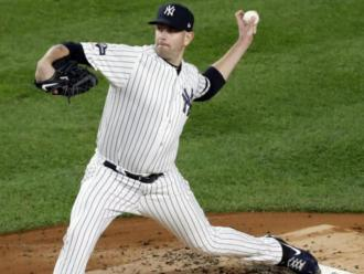 El canadenc James Paxton del New York Yankees en acció