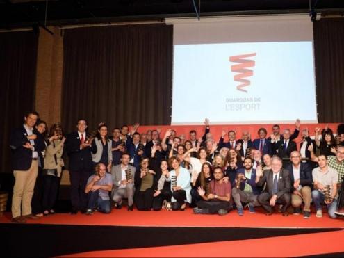 La darrera gala dels Premis de l'Esport Català que organitza la Fundació Ager