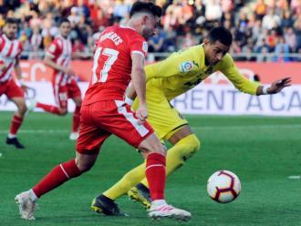 Funes Mori en un partit del curs passat, a Girona
