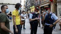 Els Mossos identifiquen el noi que ha llegit el manifest en la concentració a la plaça Paeria de Lleida