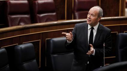 El ministre Juan Carlos Campo ahir al Congrés