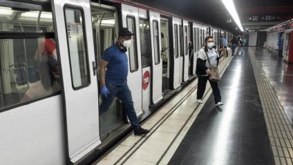 Els descens del nombre d'usuaris del transport públic durant la pandèmia ha aguditzat el dèficit tarifari