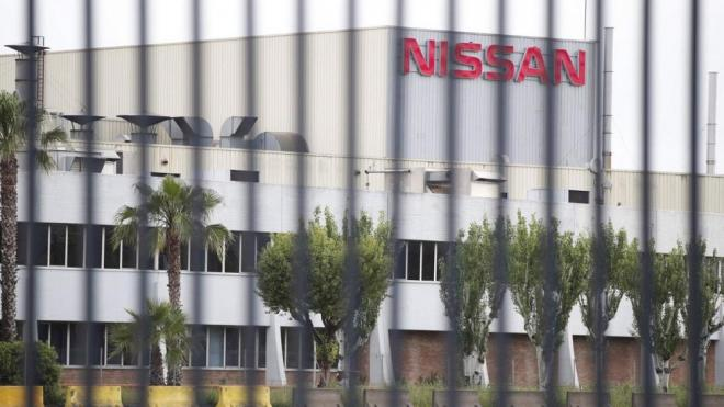 Una de les plantes de Nissan