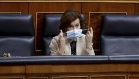 Carmen Calvo –foto– i Adriana Lastra, són les interlocutores del govern espanyol i del PSOE, que porten els contactes amb altres grups parlamentaris