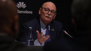 Turisme de Barcelona preveu que l'edició de 2021 del Mobile marqui l'inici de la recuperació del sector. A la imatge, el conseller delegat de GSMA, John Hoffman