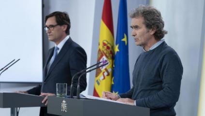Salvador Illa i Fernando Simón han anunciat avui en roda de premsa que s'autoritza unificar les àrees metropolitanes nord i sud i Barcelona ciutat per permetre la mobilitat