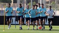 Els jugadors de l'Espanyol s'entrenen en grups reduïts aquesta setmana a la Dani Jarque