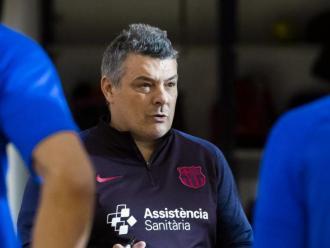 L'entrenador del Barça Xavi Pascual