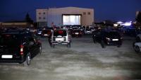 Golmés inaugura l'únic auto cinema de Catalunya i retorna l'oci al pàrquing de l'antiga discoteca Big Ben