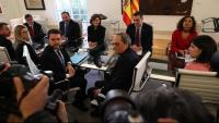 Taula de diàleg entre el govern de la Generalitat i el de l'Estat espanyol a Moncloa
