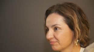Anna Caula, en una imatge presa al Parlament