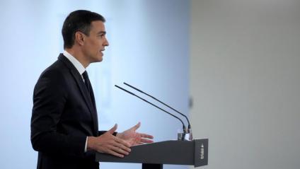 Pedro Sánchez compareix després de la dotzena reunió de presidents autonòmics