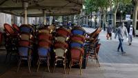 Restaurant tancat a la Rambla de Catalunya de Barcelona