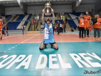 Gámiz celebra el títol de copa