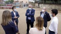 El vicepresident Aragonès i el conseller Bargalló a Breda