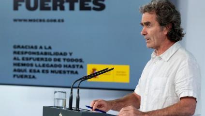El director del Centre de Alertas i Emergències Sanitàries, Fernando Simón