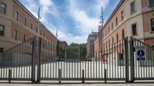 El campus de la Ciutadella de la universitat Pompeu Fabra