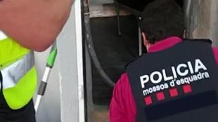 Els Mossos en l'operació de desarticulació del grup criminal pel segrest d'un matrimoni a Sabadell