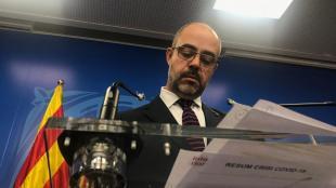 El conseller d'Interior, Miquel Buch