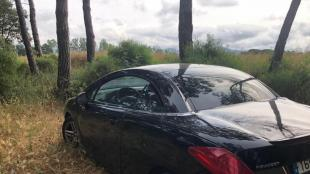 El cotxe robat que conduïa el fugitiu quan la policia de Platja d'Aro el seguia va ser trobat abandonat a Llagostera