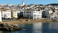 La Platja de Port Bo a Calella de Palafrugell una de les zones amb segones residències del Baix Empordà