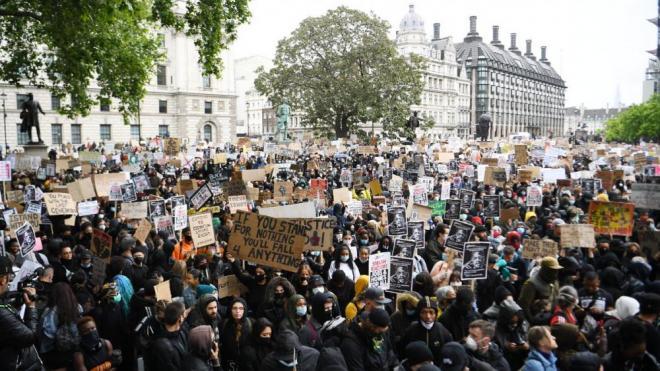 Manifestació a Londres