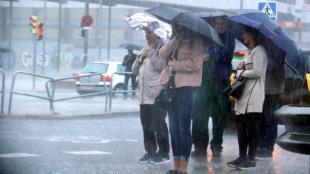Activada l'alerta del Pla Inuncat per la previsió de precipitacions intenses aquest diumenge