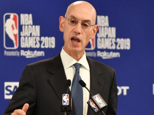 Silver, el comissionat de l'NBA, va anunciar la decisió
