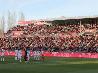 Públic a preferent en l'últim partit a Montilivi, el Girona-Albacete