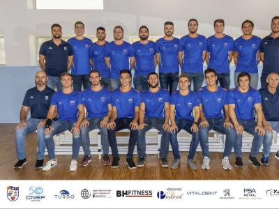 La plantilla del CN Sant Feliu de la temporada 2019/20