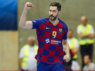 Raúl Entrerríos , el capità del Barça