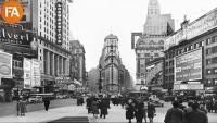 Una imatge de la ciutat de Nova York a l'inici del segle XX, on situa l'acció O. Henry