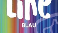 Like. Blau