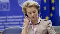 La presidenta de la Comissió, Ursula Von der Leyen