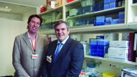 Els dos investigadors Javier Menéndez i Joaquim Bosch, que han tirat endavant l'estudi.