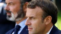 El president Emmanuel Macron i el primer ministre Edouard Philippe
