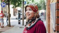 Hind Rouan , té 24 anys, és originària de Larraix, al Marroc, i viu a Salt des de fa un any i mig