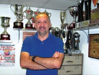 Pepe Aneas , president del Femení Sant Adrià