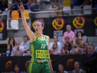 Aina Ayuso a Saragossa, amb l'Stadium el curs passat