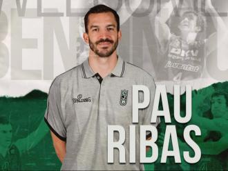 Pau Ribas és verd-i-negre després d'onze temporades a Vitòria, València i Barcelona