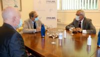 El president Quim Torra a la visita a la Fundació Catalonia Creactiva