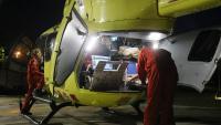 Un helicòpter medicalitzat ha intervingut en l'accident