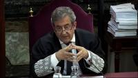 El fiscal Javier Zaragoza , en el judici contra els presos polítics al Tribunal Suprem, el juny de l'any passat