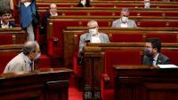 """Aragonès garanteix que el Govern destinarà """"tots els recursos necessaris"""" per fer front a la situació del Segrià"""