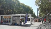 El program de cuina Masterchef ocupa la Rambla de Barcelona