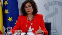 María Jesús Montero, portaveu del govern espanyol i ministra d'Hisenda