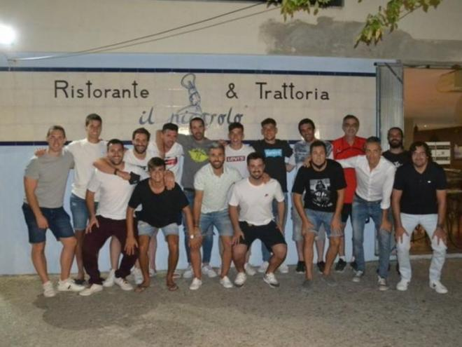La foto de grup sense Aragonès