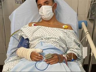 Joaquim Rodríguez a l'Hospital