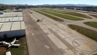 L'aeroport de Sabadell, en una imatge d'arxiu